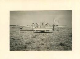 LA BAULE ESCOUBLAC 1949 AVION DE SERVICE QUOTIDIEN DE PARIS PHOTO ORIGINALE 11 X 8 CM - Luchtvaart