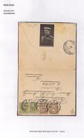 BRIEFOMSLAG VAN HULST GEPOST 30.XI.1915 NAAR A 151 GA FRANCE-E.DE MEURICKY-VELDMAARSCHALK LORD KITCHENER - Brieven En Documenten