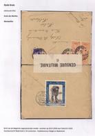 BRIEFOMSLAG LEGERPOSTERIJ ZONDER NUMMER-18.IV.1918 NAAR HULST 08.IV.18-DUBBELCENSUUR BELGIE EN NEDERLAND - Andere Brieven