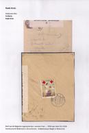 BRIEFOMSLAG VAN LEGERPOSTERIJ NR.4 NAAR HULST 3.VI.1918-DUBBELCENSUUR BELGIE EN NEDERLAND - Andere Brieven