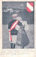 Carte Etudiant, Société Suisse De Zofingue, Couple, Illustrateur P. Privat, Genève (30.4.1908) - Scuole