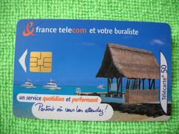 7204 Télécarte Collection France Télécom Et Votre Buraliste   Bateaux   Bateau 50 U  ( Recto Verso)  Carte Téléphonique - Operatori Telecom