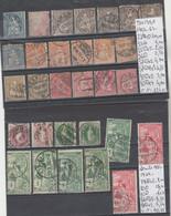 LETTRE DE SUISSE  NEUF ** /* /(*) / OBLITEREES 1882-67-78-1900- Nr VOIR SUR PAPIER AVEC TIMBRES  COTE 840.60  € - Ungebraucht