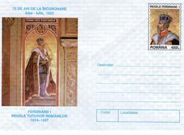 ROMANIA 1997: ROMANIAN KING FERDINAND, Unused Prepaid Cover 093/1997   - Free Shipping! - Entiers Postaux