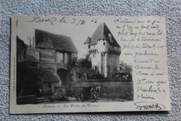Cpa 1903, Nevers, La Porte Du Croux, Nièvre 58 - Nevers