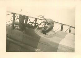 JACQUES MENIER AVIATEUR DE GUERRE CLASSE 1912 FILS DES CHOCOLATS MENIER DE NOISIEL FORMAT 17 X 12 CM - Aviación