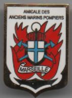 Marseille  Amicale Des Anciens Marins Pompiers - Pompieri