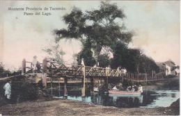 POSTAL DE MONTEROS PROVINCIA DE TUCUMAN - PASEO DEL LAGO (ARGENTINA) (EDITOR A. PREBISCH) - Argentina