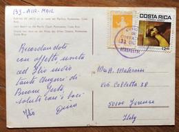 COSTA RICA - PLAYAS DE JACO - POST CARD PAR AVION TO FIRENZE - ITALY - 31/12/80 - Mundo