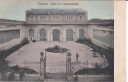 POSTAL DE TUCUMAN DE LA CASA DE LA INDEPENDENCIA  (ARGENTINA) (EDITOR A. PREBISCH) - Argentina