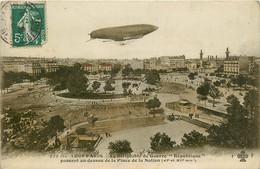 75* PARIS (11)    Dirigeable «republique»au Dessus Place De La Nation     RL15,0147 - Distretto: 11