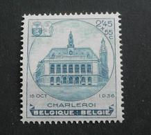 1936 : Cob 437**  ( Sans Charnière D5 ) Voir Verso - Unused Stamps