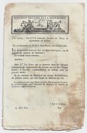 Bulletin Des Lois N°285 Germinal An XI 1803 Foires Du Léman (Haute-Savoie - Suisse)/Navigation Intérieure De La France - Decreti & Leggi
