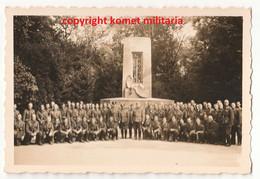 WW2 Photo Soldat Allemand Compiègne Clairière De Rethondes - 1939-45