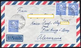 Paraguay 1963 Luftpostbrief Nach Deutschland ;  MiNr. 1155 (2)  Staatswappen - Paraguay