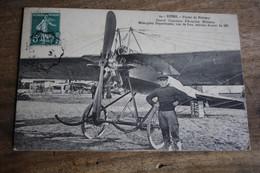 CPA  Marne Reims  Plaine  De Bétheny   Grand Concours  D'aviation Militaire  Avion - Reims
