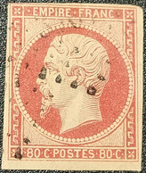 Napoléon III  N° 17A Avec Oblitération Losange  TB - 1853-1860 Napoléon III