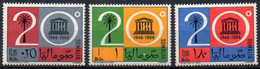 Somalia 1966 MiNr. 96/ 98  **/ Mnh ; 20 Jahre UNESCO - Somalia (1960-...)