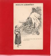 MILITARISMO---CARTE ESPERANTO---Illustration  Ludovic RODO--voir 2 Scans - Esperanto