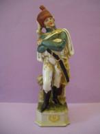 Statuette En Porcelaine Soldat De L'armée De NAPOLEON (6 Photos) Voir Description - Sonstige