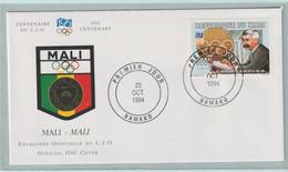 Mali FDC 1994 IOC Centenary (G133-40) - Sonstige
