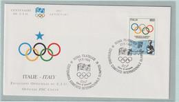 Italy FDC 1994 IOC Centenary (G133-40) - Sonstige