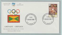 Grenada FDC 1994 IOC Centenary (G133-40) - Sonstige
