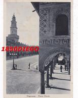 VIGEVANO - PIAZZA DUCALE  F/GRANDE VIAGGIATA 1941  ANIMAZIONE - Vigevano
