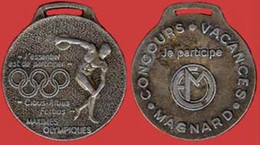 ** MEDAILLE  MAXIMES  OLYMPIQUES  -  MAGNARD  +  DELTA  PLANE ** - Unclassified