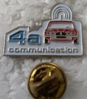 Pin's - Automobiles - 4 A COMMUNICATION - - Altri