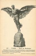 75* PARIS (16)  Bois De Boulogne – Monument Aero Club - «santos Dumont»         RL15,0755 - Arrondissement: 16