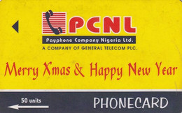NIGERIA(GPT) - Merry Xmas & Happy New Year, CN : 5GWAA/B, Used - Nigeria