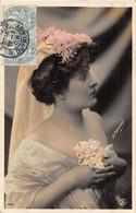 9 Belles Photographies D'actrices Nommées Ou Non 1905-1906.  Toutes Ont Voyagé Et Sont En Bon état. - 5 - 99 Postales