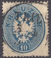 OSTERREICH - 1863 - Yvert 25 Usato, Come Da Immagine. - Usados