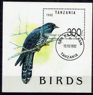 Tansania - Mi-Nr Block 190 Gestempelt / Used (i1148) - Cuckoos & Turacos
