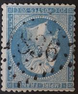 22 Obl GC 1836 L'Isle-en-dodon (30 Haute Garonne ) Ind 4 ; Frappe Centrée - 1849-1876: Klassik