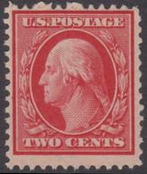 !a! USA Sc# 0332 MNH SINGLE (a3) -George Washington - Unused Stamps