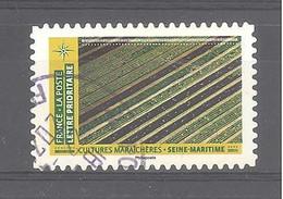 France Autoadhésif Oblitéré N°1951 (Mosaïque De Paysages - Cultures Maraîchères Seine Maritime) (cachet Rond) - Gebruikt