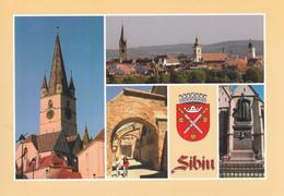 Romania -  Postcard Unused - Sibiu -  Images From The City - Romania