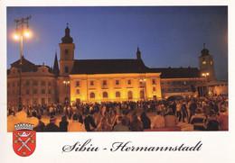 Romania -  Postcard Unused - Sibiu -  The Roman Catholic Parochial Church - Romania