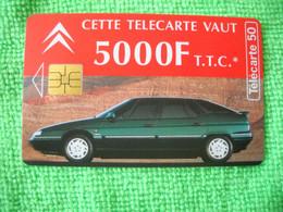 7222 Télécarte Collection CITROEN  5 000 F  50 U  ( Recto Verso)  Carte Téléphonique - Automobili