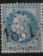 29B Obl GC 1881 Joncquières (86 Vaucluse ) Ind 15 ; Frappe Très Nette & TB Centrée - 1849-1876: Periodo Classico