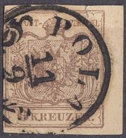OSTERREICH - 1854 - Yvert 4B Usato, Di Seconda Scelta, Come Da Immagine. - Usados