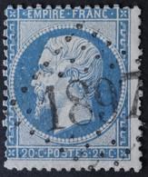 22 Obl GC 1897 Juillac (18 Corrèze ) Ind 5 ; Frappe Très Nette & Centrée - 1849-1876: Classic Period
