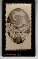 Faire-part Décès : Original Et En Relief, Madame Charles Cosnard, MONT-DORE Le  Septembre 1879. - Esquela