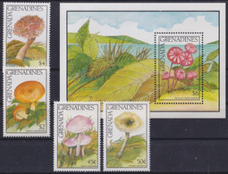 F-EX26844 GRENADA & GRENADINES MNH 1991 HONGOS MUSHROOMS FUNGUS. - Mushrooms