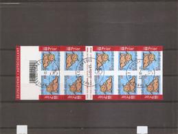 Belgique ( Carnet 52 Oblitéré) - Carnets 1953-....