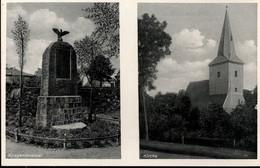! Alte Ansichtskarte Aus  Berlin Wartenberg, Kriegerdenkmal, Kirche - Otros
