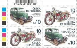 ** 768-9 Czech Republic Motorcycle Cechie - Böhmerland And Tatra Draisine 2013 - Nuovi