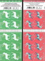 2 X Boekje Kerstmis Van 2020 (België & Europa) - Noël - Christmas /  Weihnachten / Navidad / X-mas - Booklets 1953-....
